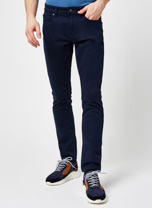 Vêtements Only & Sons Onsloom Life Slim Coloured Jog Bleu vue détail/paire