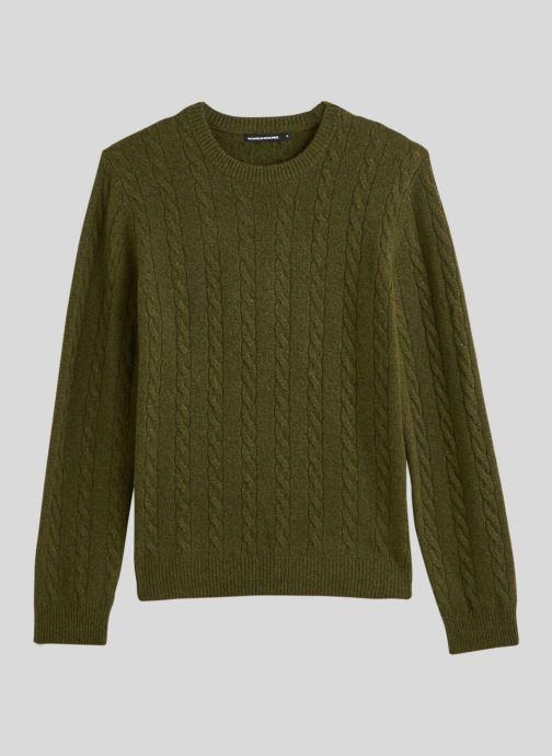 Vêtements Monoprix Homme Pull en laine et cachemire Vert vue face