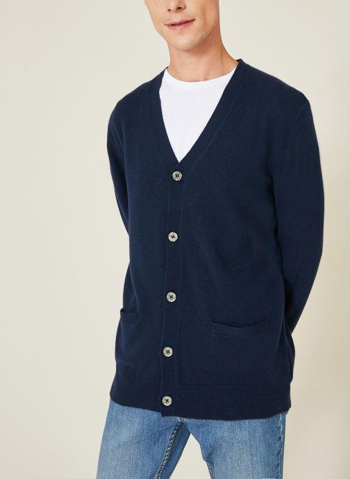 Gilet - Cardigan en laine et cachemire