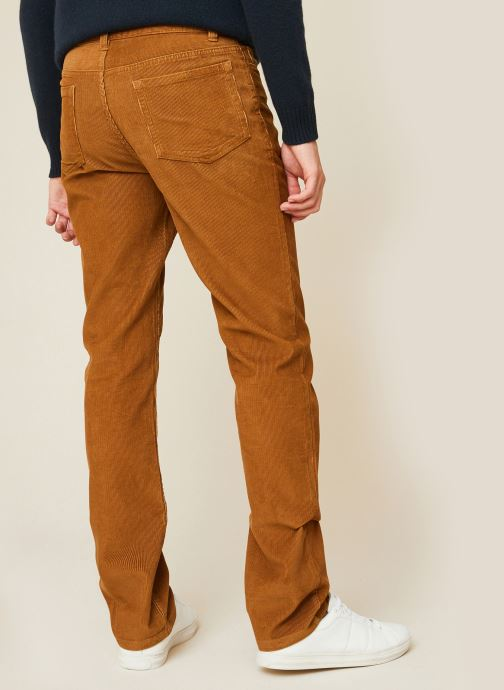 Kleding Monoprix Homme Pantalon en coton BIO Bruin model