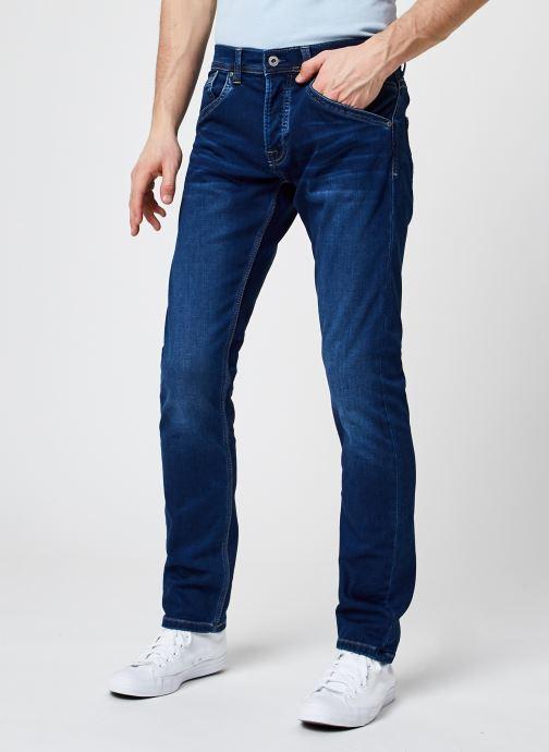Ropa Pepe jeans Track M Azul vista de detalle / par