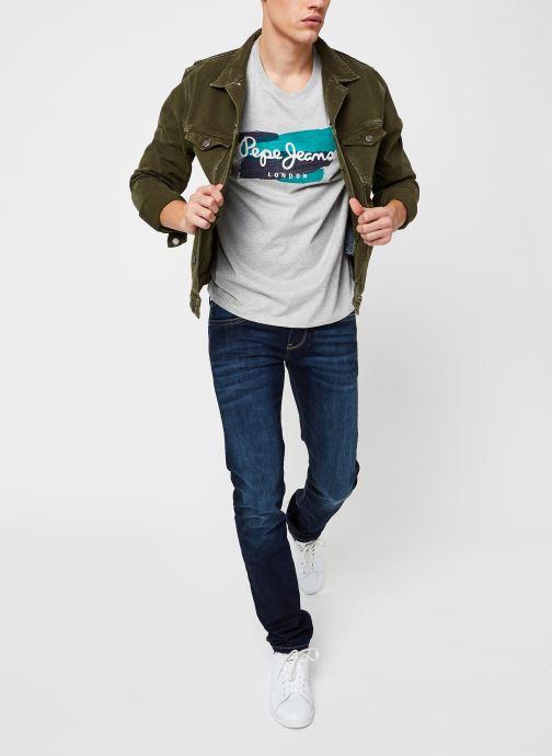 Vêtements Pepe jeans Aitor M Gris vue bas / vue portée sac