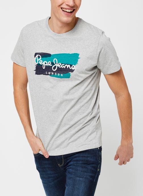 Vêtements Pepe jeans Aitor M Gris vue détail/paire