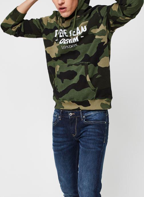 Vêtements Pepe jeans Cam M Vert vue détail/paire