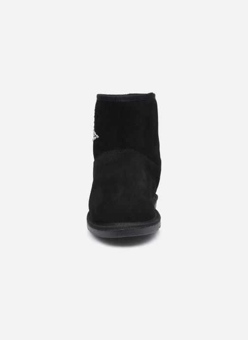 Bottes Les Tropéziennes par M Belarbi Chacha Noir vue portées chaussures