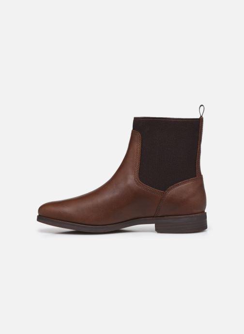 Stiefeletten & Boots Timberland Somers Falls Chelsea braun ansicht von vorne