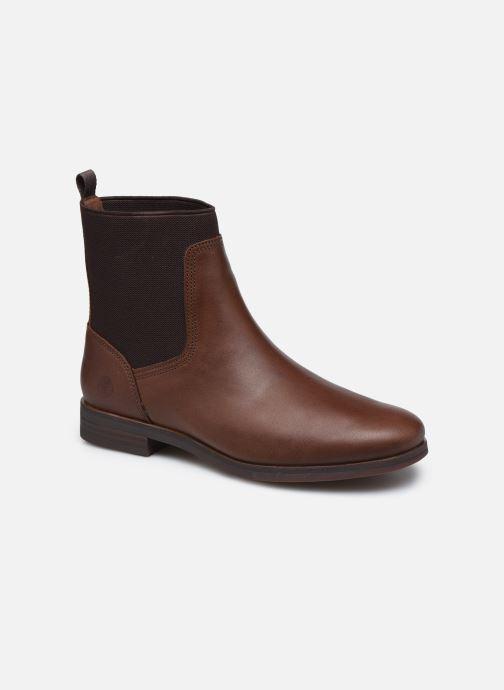Boots en enkellaarsjes Timberland Somers Falls Chelsea Bruin detail