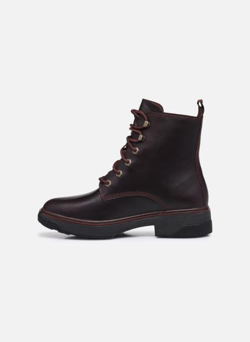 Boots en enkellaarsjes Timberland Nolita Sky Lace Up Bruin voorkant