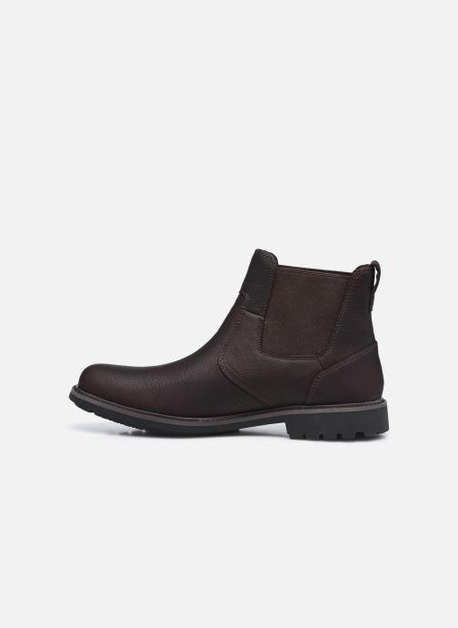 Boots en enkellaarsjes Timberland Stormbucks Chelsea Bruin voorkant