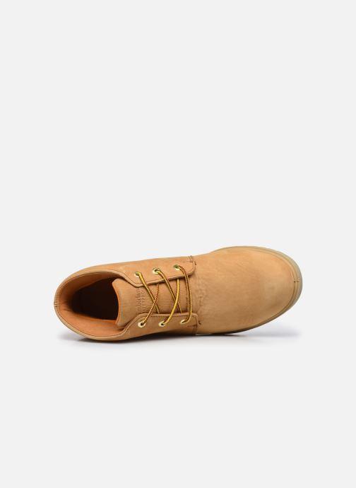 Boots en enkellaarsjes Timberland TBL 1973 Newman Chukka WP Bruin links