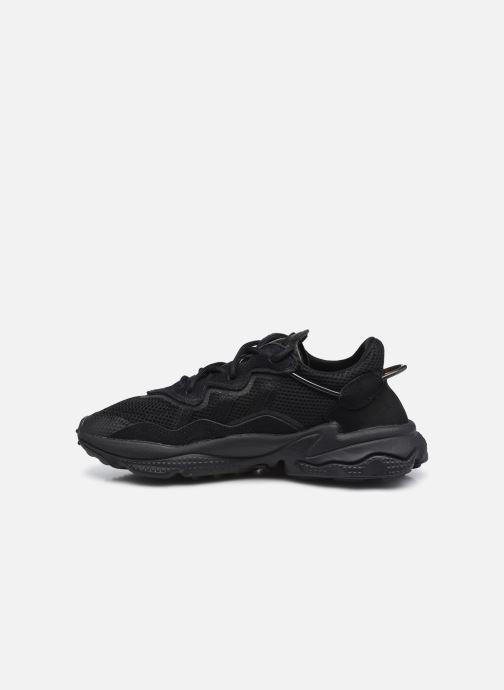 Sneaker adidas originals Ozweego J schwarz ansicht von vorne