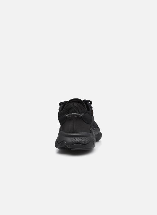 Sneaker adidas originals Ozweego J schwarz ansicht von rechts
