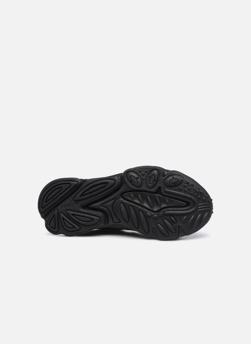 Sneaker adidas originals Ozweego J schwarz ansicht von oben