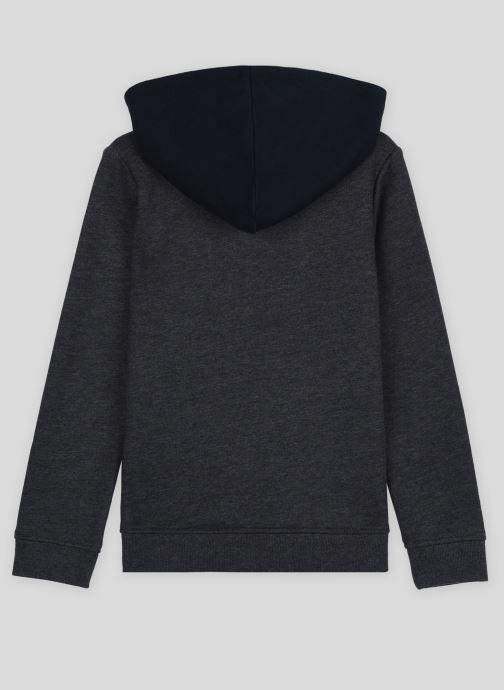 Vêtements Monoprix Kids Sweat zippé en coton BIO Gris vue portées chaussures