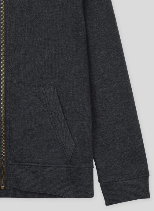 Vêtements Monoprix Kids Sweat zippé en coton BIO Gris vue face