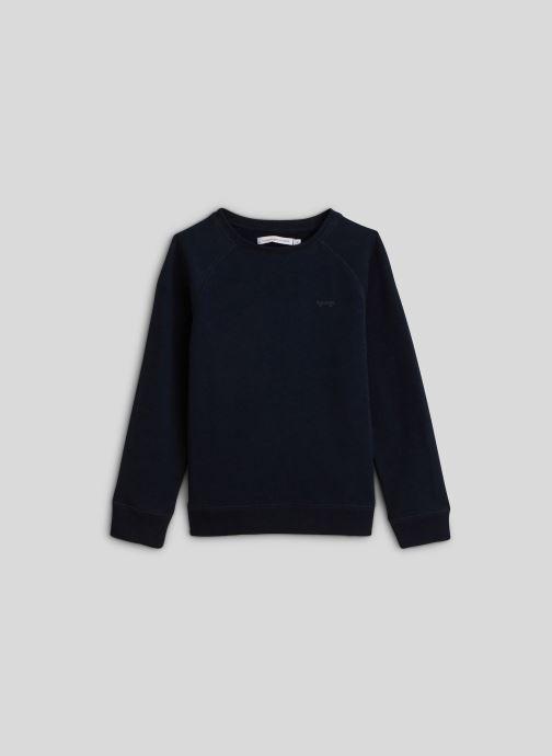 Vêtements Monoprix Kids Sweat brodé en coton BIO Bleu vue détail/paire