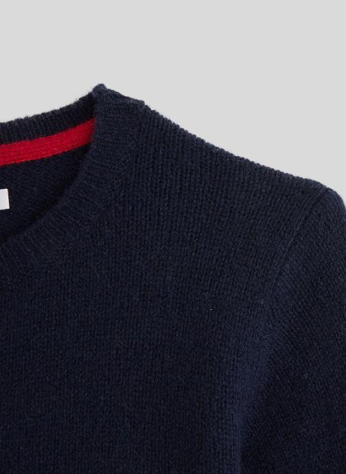 Kleding Monoprix Kids Pull en laine Blauw voorkant