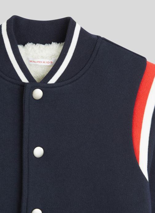 Vêtements Monoprix Kids Teddy molleton en coton BIO Bleu vue face