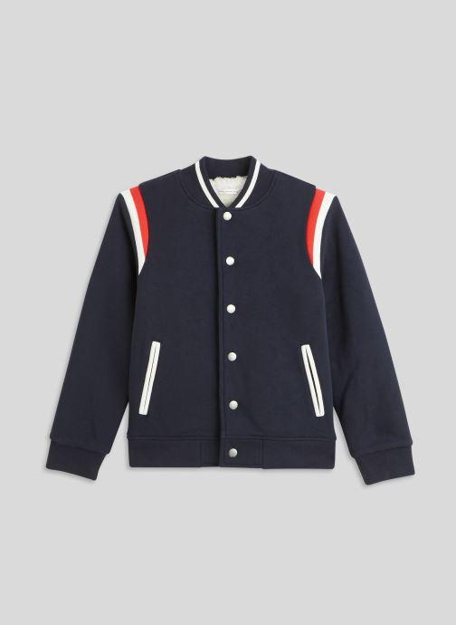 Vêtements Monoprix Kids Teddy molleton en coton BIO Bleu vue détail/paire