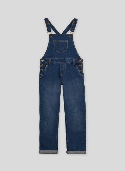 Vêtements Monoprix Kids Salopette en denim Bleu vue détail/paire