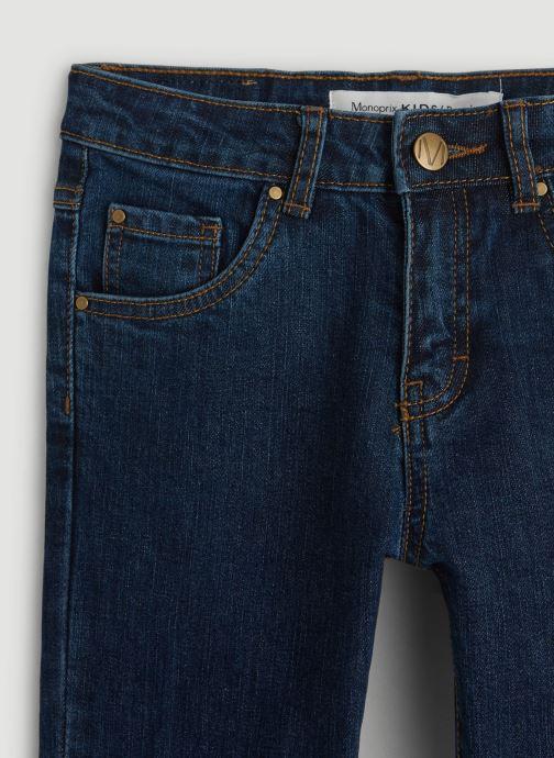 Kleding Monoprix Kids Jean slim en coton BIO Blauw voorkant