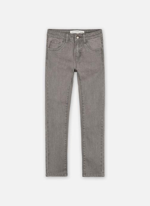 Vêtements Monoprix Kids Jean slim en coton BIO Gris vue détail/paire