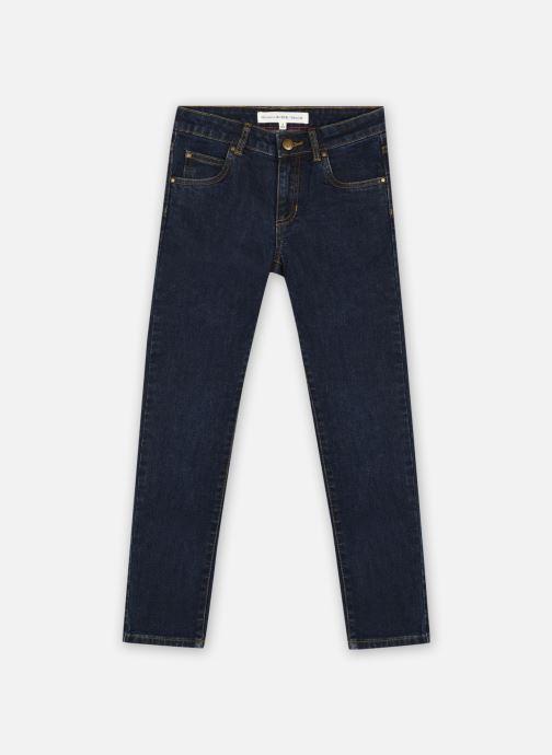 Kleding Monoprix Kids Jean straight en coton BIO Blauw detail
