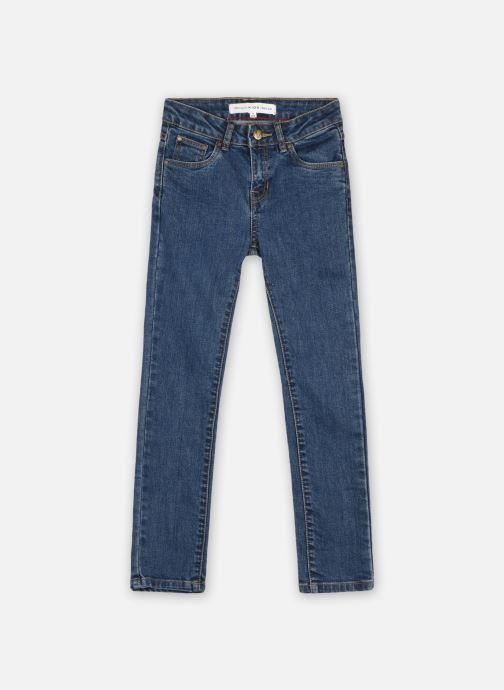 Kleding Monoprix Kids Jean skinny en coton BIO Blauw detail
