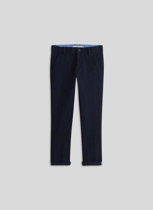 Kleding Monoprix Kids Pantalon slim en coton BIO Blauw detail
