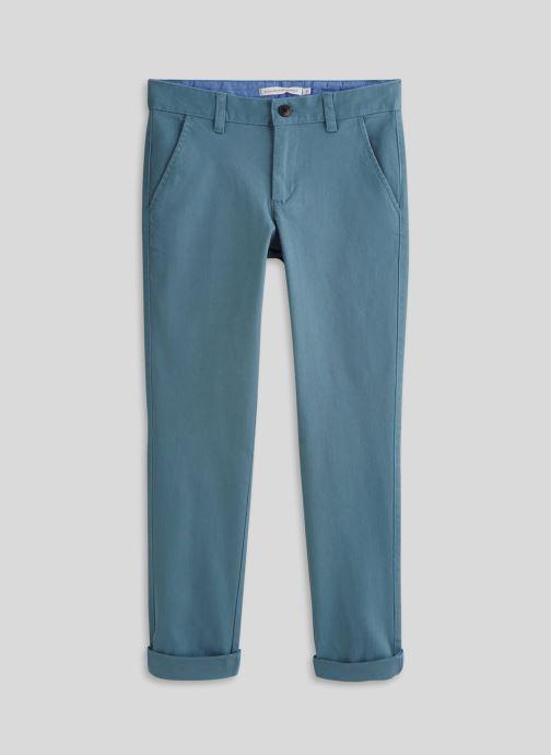 Vêtements Monoprix Kids Pantalon slim en coton BIO Bleu vue détail/paire