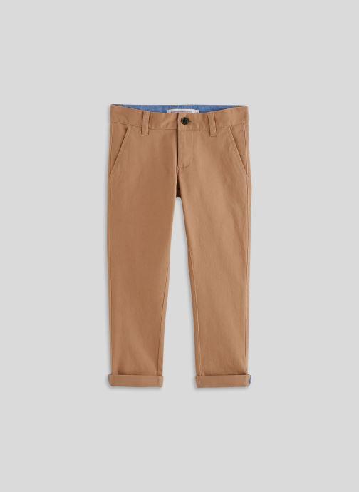 Vêtements Monoprix Kids Pantalon slim en coton BIO Beige vue détail/paire