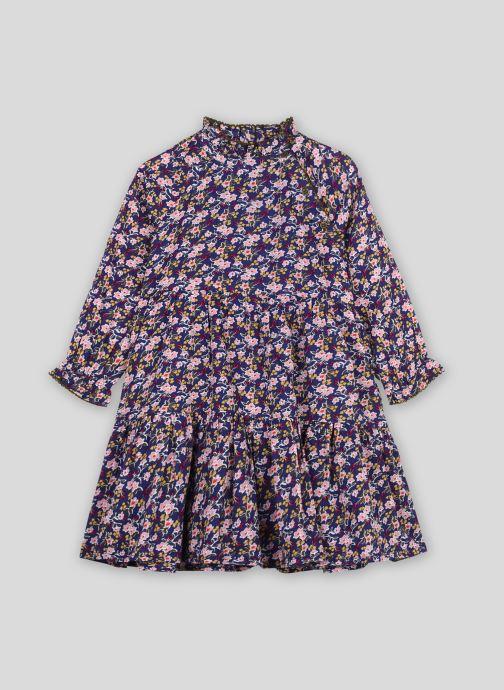 Kleding Monoprix Kids Robe en coton imprimée Blauw model