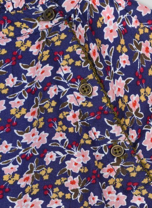 Kleding Monoprix Kids Robe en coton imprimée Blauw voorkant