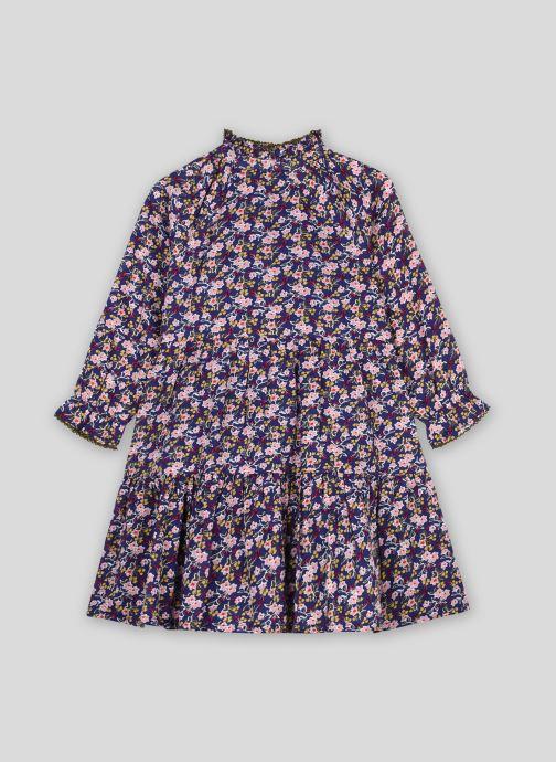 Vêtements Monoprix Kids Robe en coton imprimée Bleu vue détail/paire