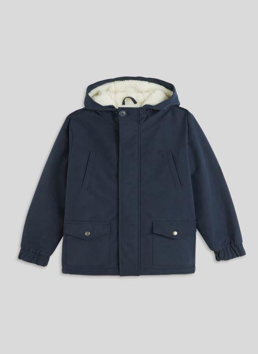 Vêtements Monoprix Kids Parka doublé Bleu vue détail/paire