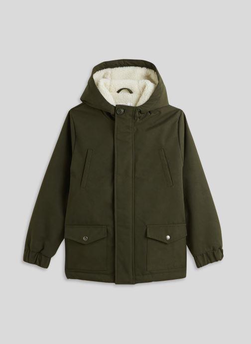 Vêtements Monoprix Kids Parka doublé Vert vue détail/paire