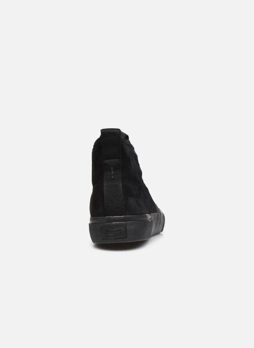 Sneaker Globe Los Angered II - Sammy Montano - schwarz ansicht von rechts