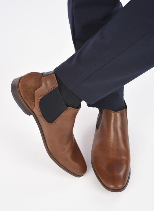 Stiefeletten & Boots Marvin&Co WALKON braun ansicht von unten / tasche getragen