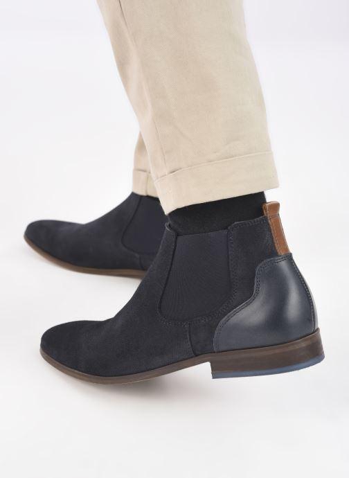 Boots en enkellaarsjes Marvin&Co WALKON Blauw onder