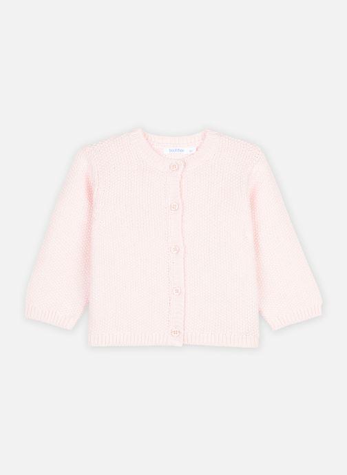 Kleding Bout'Chou Cardigan - Oeko-Tex ® Roze detail