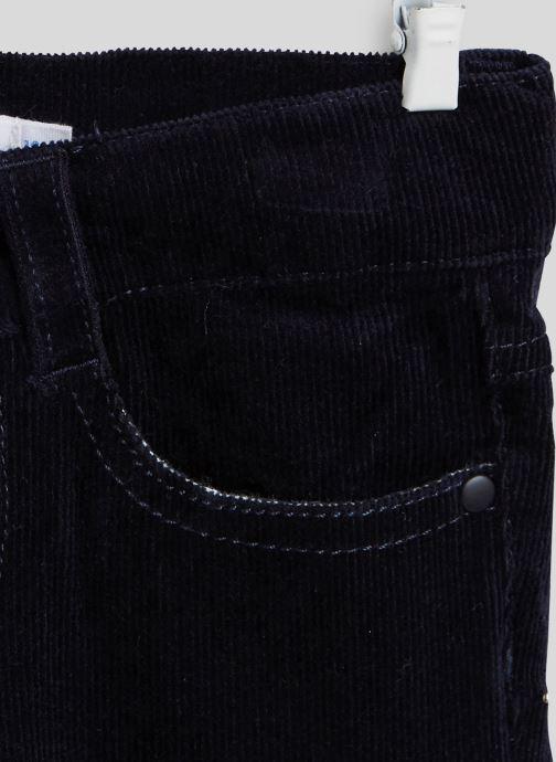 Vêtements Bout'Chou Pantalon en velours - Oeko-Tex Bleu vue face