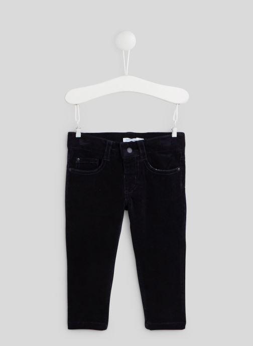 Vêtements Bout'Chou Pantalon en velours - Oeko-Tex Bleu vue détail/paire