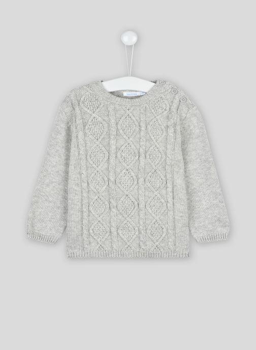 Vêtements Bout'Chou Pull torsades Oeko-Tex Gris vue détail/paire
