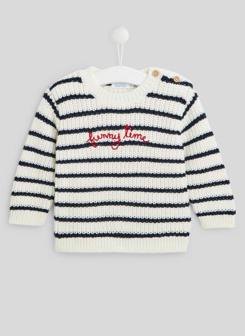 Pull rayé en tricot