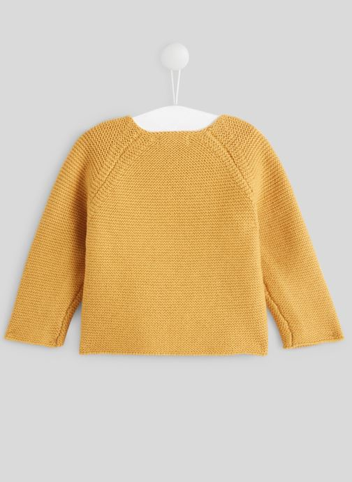 Kleding Bout'Chou Pull point mousse Geel model