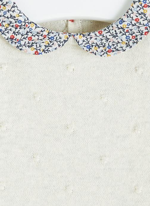 Vêtements Bout'Chou Combinaison en tricot Beige vue face