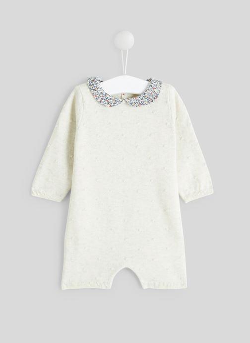 Vêtements Bout'Chou Combinaison en tricot Beige vue détail/paire