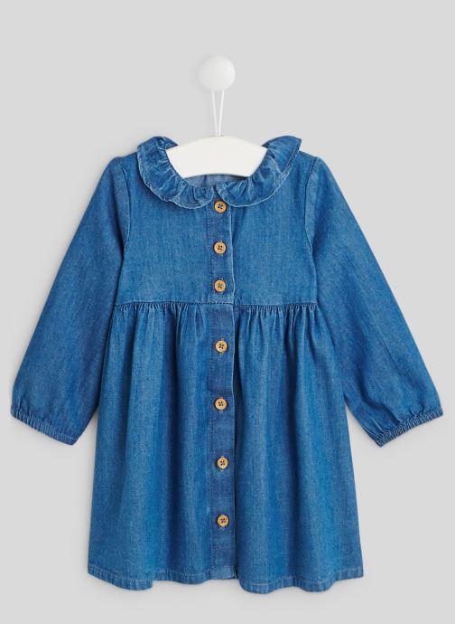 Kleding Accessoires Robe en chambray à manches longues