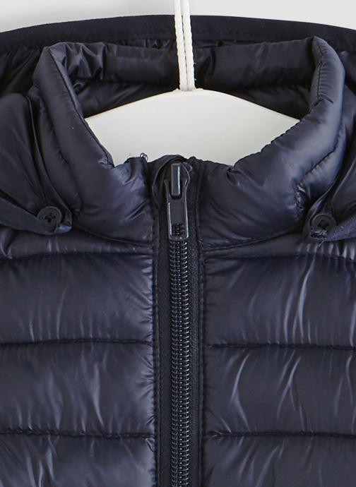 Vêtements Bout'Chou Doudoune fine à capuche Bleu vue face