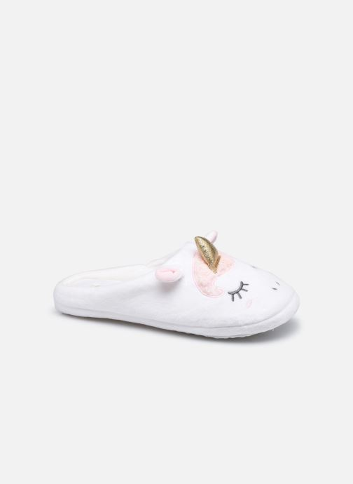 Chaussons mules licorne femme